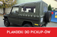 PLANDEKI DO PICKUP-ÓW